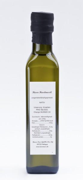 Rieser Hazelnut Oil 0,50L