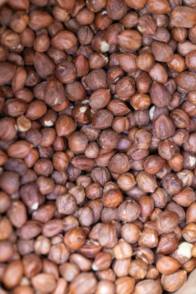 Organic hazelnut kernels natural brown, Croatia